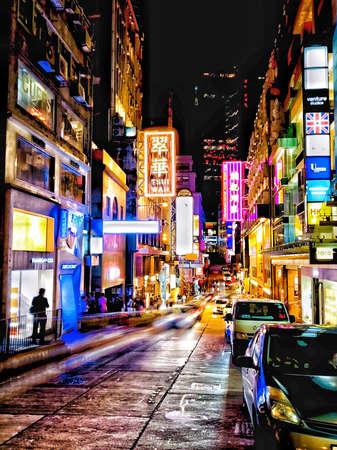 Foto für Lan Kwai Fong, Central, Hong Kong - Lizenzfreies Bild