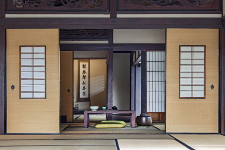 Photo for Traditional Japanese Tea Room - Royalty Free Image