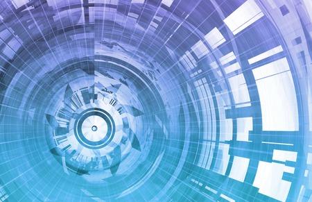 Photo pour Technology Background Digital Energy as a Art - image libre de droit