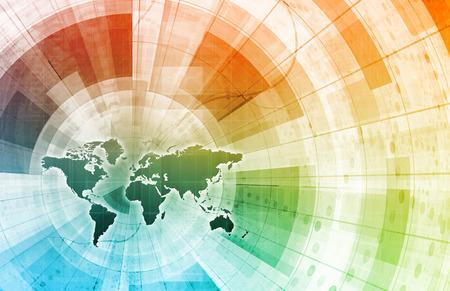 Foto de Supply Channel Coordination or Logistics Chain as Concept - Imagen libre de derechos