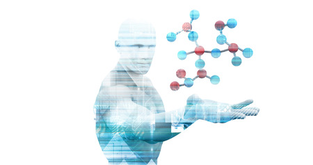 Foto de Abstract Science Medical Background as a Concept - Imagen libre de derechos