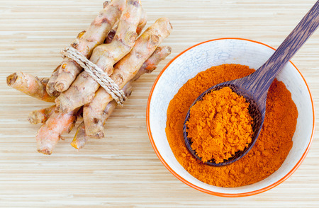 Photo for Natural Spa Ingredients . - Turmeric and honey  for skin care. - Royalty Free Image