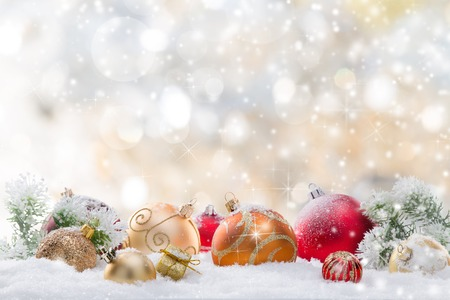 Photo pour Abstract Christmas background, close-up. - image libre de droit