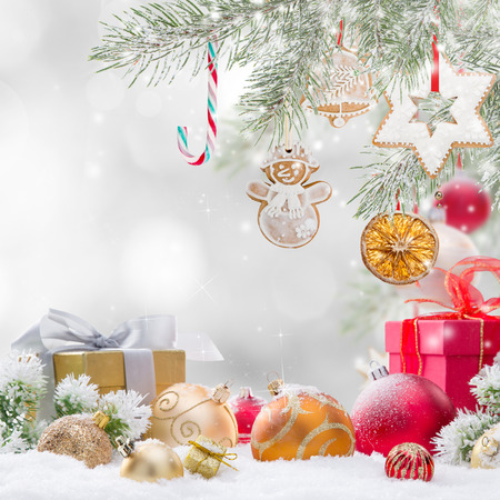 Photo for Abstract Christmas background, close-up. - Royalty Free Image