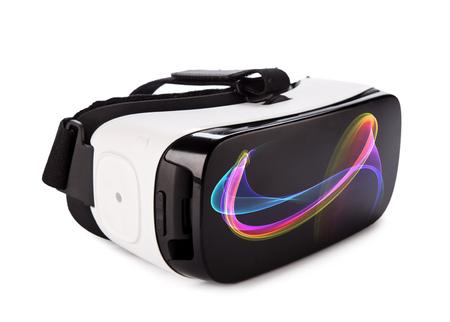 Foto de VR virtual reality glasses on white background - Imagen libre de derechos