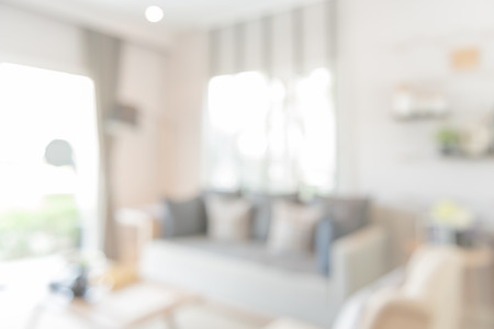Foto de blur image of modern living room design - Imagen libre de derechos