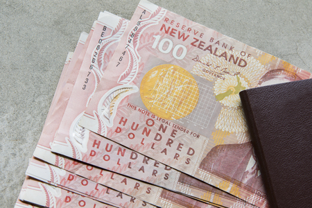 Photo for one hundred dollars bank note of new zealand - Royalty Free Image