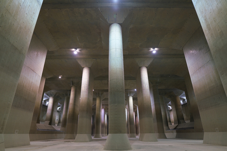 Photo for The Metropolitan Area Outer Underground Discharge Channel - Royalty Free Image