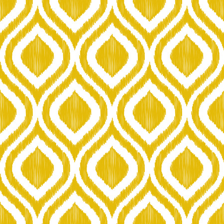 Illustration for seamless decorative ornament pattern  - Royalty Free Image