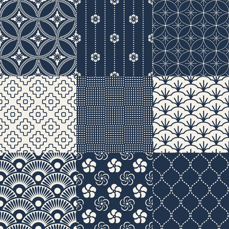 Photo for seamless japanese traditional pattern - Royalty Free Image