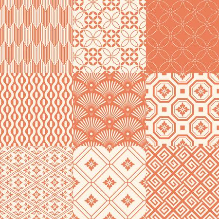 Illustration pour japanese pattern - image libre de droit