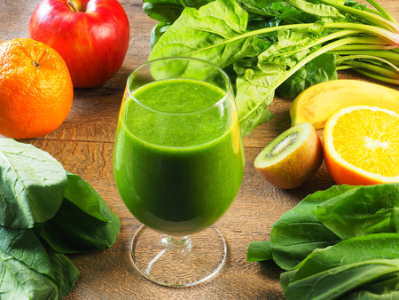 Foto per Green smoothies - Immagine Royalty Free
