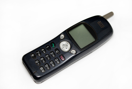 Photo for old cell phone - Royalty Free Image