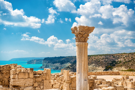 Photo for ?uins of ancient Kourion. Limassol District. Cyprus. - Royalty Free Image
