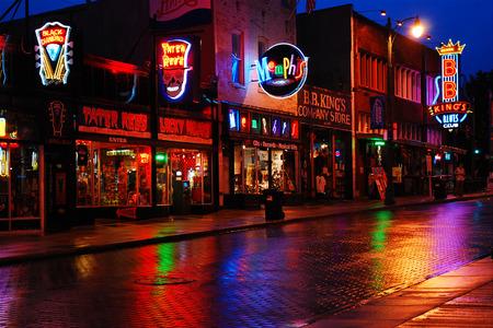 Foto de Beale Street, Memphis, Tennessee - Imagen libre de derechos