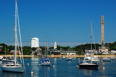 Foto de A Summer Day In Provincetown, Cape Cod, Massachusetts - Imagen libre de derechos