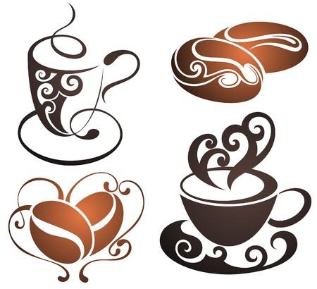Ilustración de coffee cup vector - Imagen libre de derechos