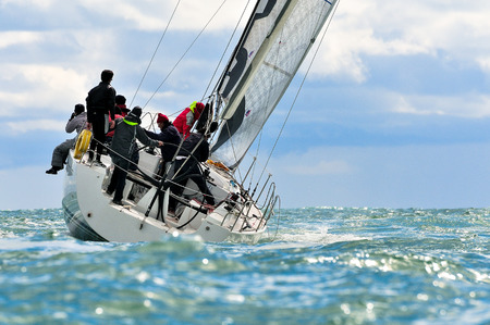 Photo pour sailing crew - image libre de droit