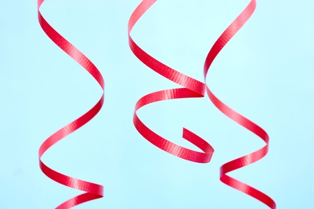 Photo for A studio photo of gift wrapping ribbon - Royalty Free Image