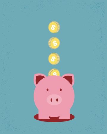 Illustration pour Saving money - image libre de droit