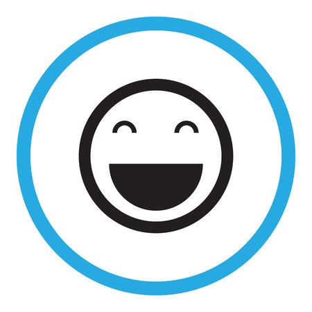 Illustration pour Smile icon - image libre de droit