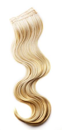 Foto de Blond hair piece - Imagen libre de derechos