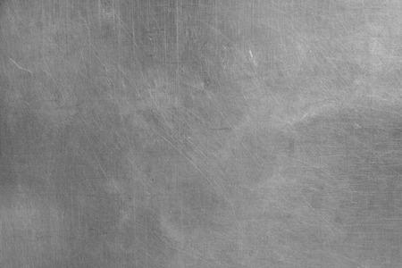 Foto de Brushed silver metallic background - Imagen libre de derechos