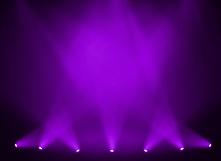 Photo pour Purple stage background - image libre de droit