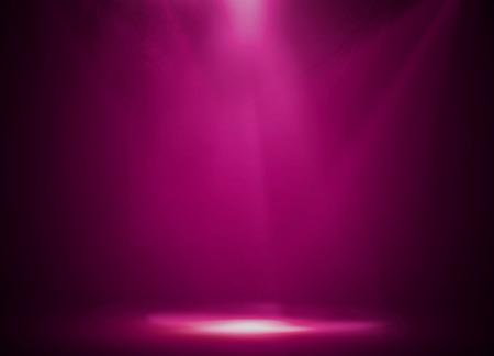 Photo pour Pink stage background - image libre de droit
