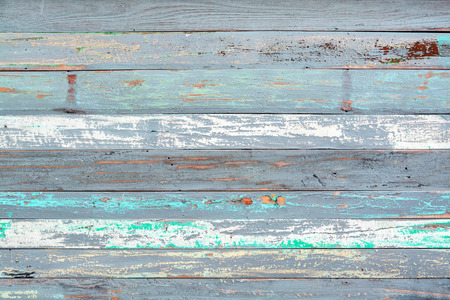 Photo pour Old painted wood textured background - image libre de droit