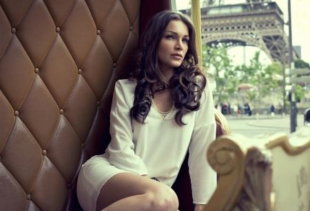 Foto de Young beautiful woman - Imagen libre de derechos