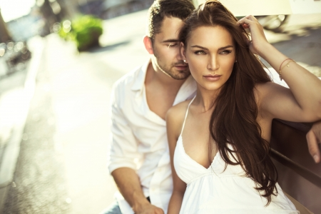 Photo for Young couple in love - Royalty Free Image