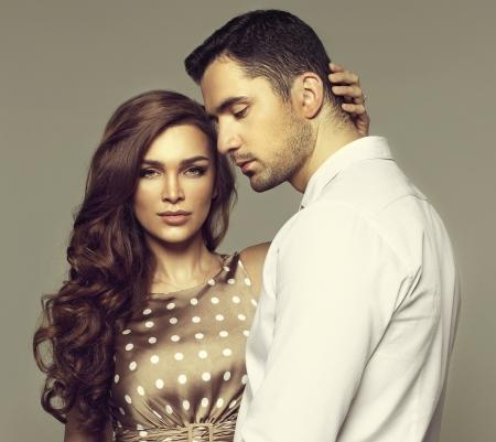 Foto de Beautiful couple posing  - Imagen libre de derechos