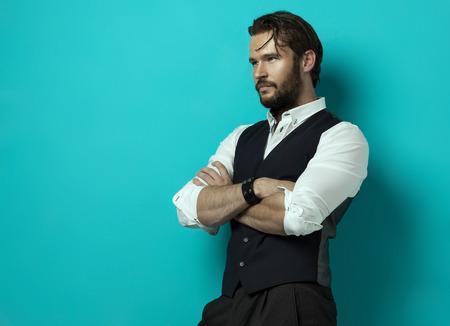 Photo pour Handsome man - image libre de droit