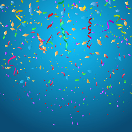 Photo pour Confetti background ideal for Christmas or birthdays - image libre de droit