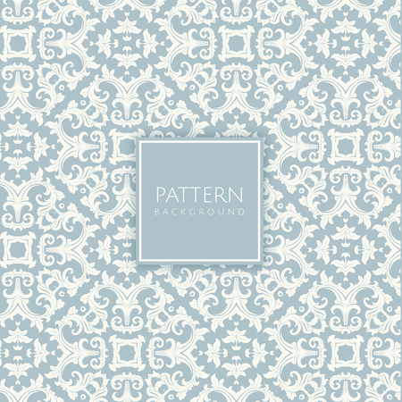Photo for Vintage style background with a damask pattern - Royalty Free Image