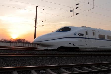 China railway train