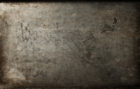 Photo pour Dark  rusty metal texture background - image libre de droit