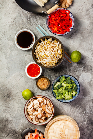 Photo pour Asian cuisine ingredients - image libre de droit