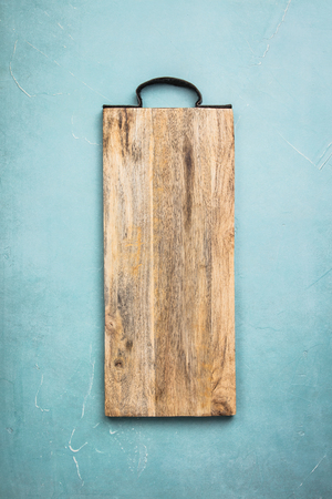 Photo for Wooden cutting board - Royalty Free Image