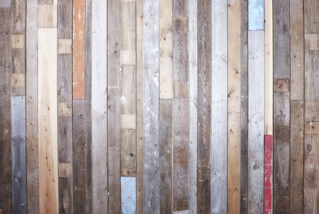 Photo for Background of reclaimed timber for a modern rustic look - Royalty Free Image