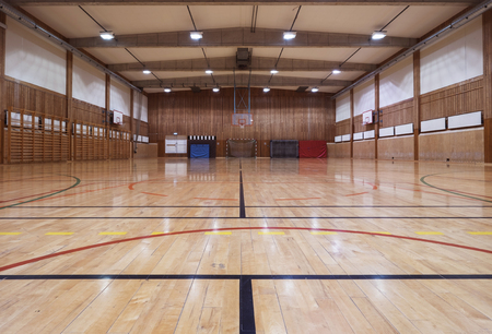 Photo for Interior of an old gymhall - Royalty Free Image