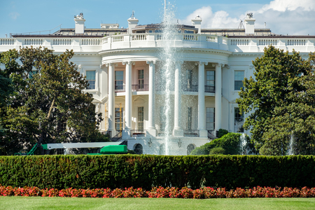 Photo for The White House, home of the US President, in Washington D.C. - Royalty Free Image