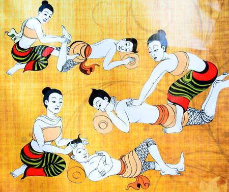 Photo for The Traditional Thai Massage. - Royalty Free Image