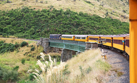 Photo for Taieri gorge railway, New Zealand - Royalty Free Image