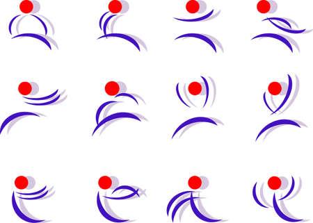 Twelve people options logos