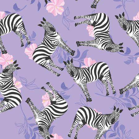Illustration pour Zebra pattern, illustration, animal. - image libre de droit