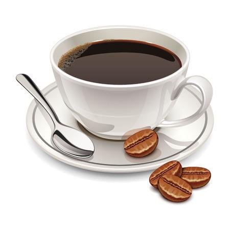 Ilustración de cup of coffee - Imagen libre de derechos