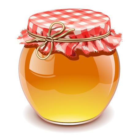 Illustration pour honey isolated - image libre de droit