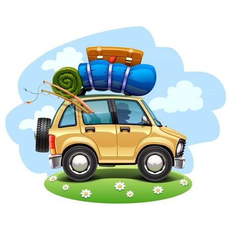 Photo pour travel car - image libre de droit